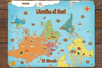 ¡Arriba el Sur! World Map