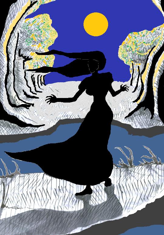 La Llorona Silouhette
