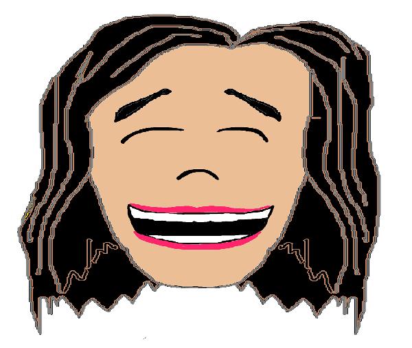 Smiling Girl Dark Hair--Resized Again