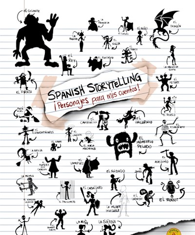 Spanish Storytelling Characters Poster