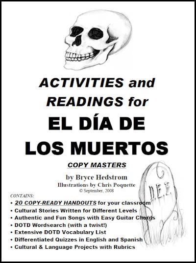 Activities And Readings For El Da De Los Muertos Bryce Hedstrom