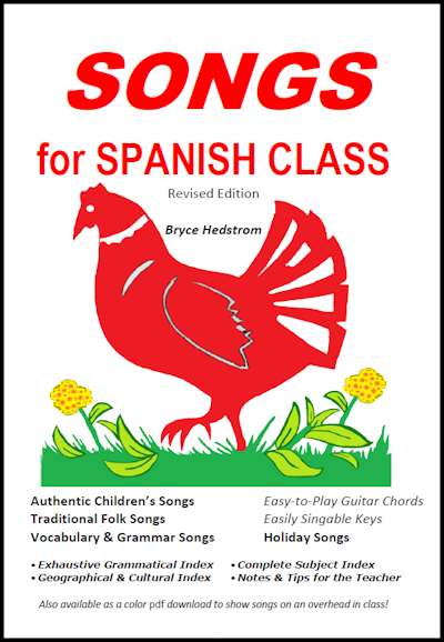 ebook songs for spanish class revised edition bryce hedstrom